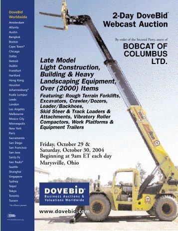 Bobcat Brochure