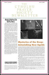 Cthulhu Prayer Society 8 - Poet's Press