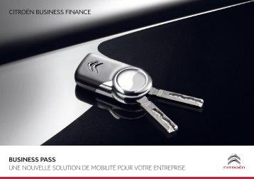 business pass une nouvelle solution de mobilité ... - Groupe Dallard