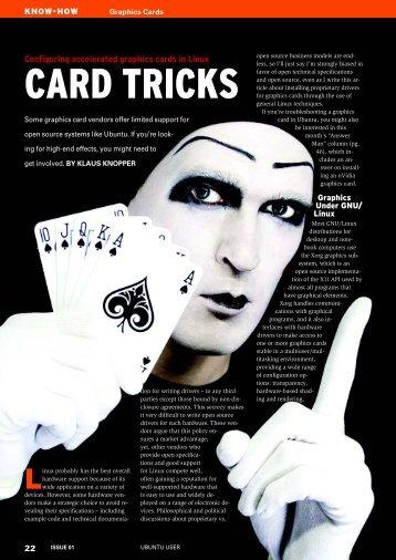 CARD TRICKS - Ubuntu User