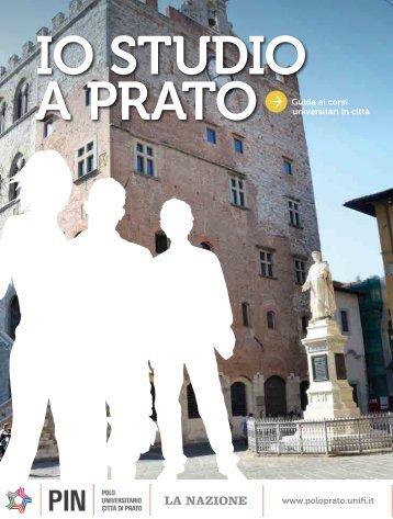 www.poloprato.unifi.it Guida ai corsi universitari in città