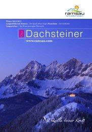 Dachsteiner - Ramsau am Dachstein