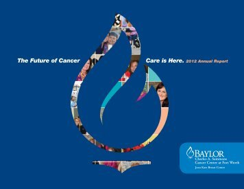 2012 Annual Report - Baylor Health Care System