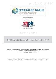 ZH IN13 - ZD.pdf - Centrální nákup, příspěvková organizace zřízená ...