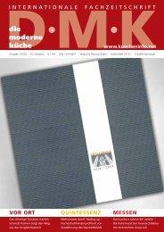 Die moderne Kücke Ausgabe 03/2008 - Kesseböhmer