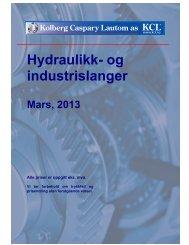 Hydraulikk- og industrislanger