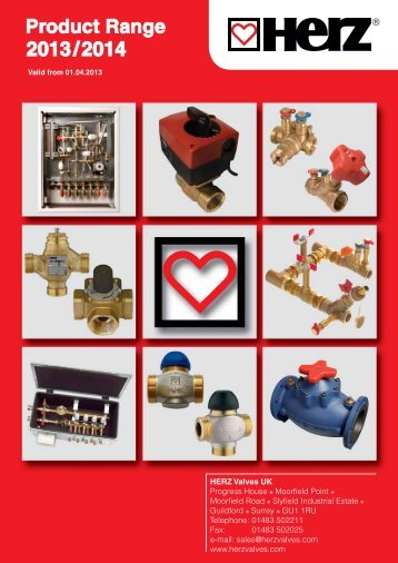 Product Range - Herz Valves UK