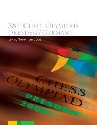 38th Chess Olympiad Dresden / Germany - Chess-International