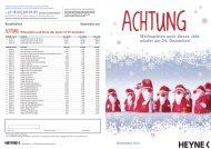 Weihnachten auch dieses Jahr wieder am 24. Dezember! November ...