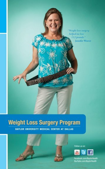 Weight Loss Surgery Program - Baylor Health Care System