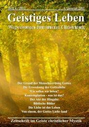GL 4/2012 - der Lorber-Gesellschaft eV