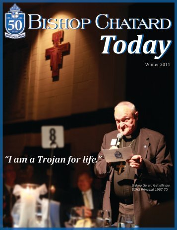 BCHS Today Magazine - Bishop Chatard High School