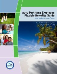 2010 Part-time Employee Flexible Benefits Guide - Risk ...