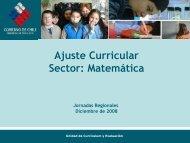 Presentación Ajuste Matematica 100309 - LEM