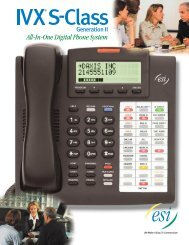 All-In-One Digital Phone System - PC Works has ESI IVX business ...
