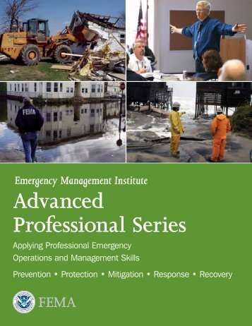 Emergency Management Institute Advanced Professional Series