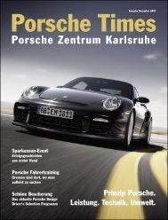 Ausgabe Dez 2007 - Porsche Zentrum Karlsruhe
