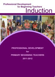 Professional Development for Beginning Teachers