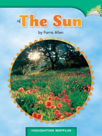 Lesson 16:The Sun