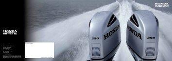 katalóg Honda Marine