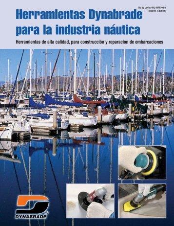 Herramientas Dynabrade para la industria náutica - Dynabrade Inc.