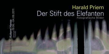 Der Stift des Elefanten - Stiftung Industriedenkmalpflege und ...