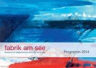 Programm 2014 - Fabrik am See