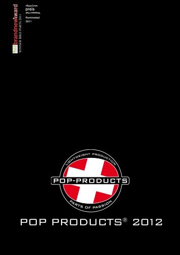 POP PRODUCTS® 2012