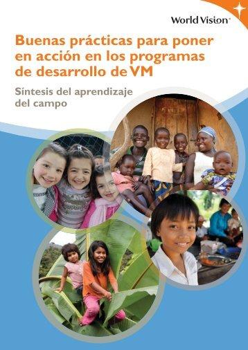 Buenas prácticas para poner en acción en los programas de ...