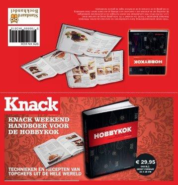 KNACK WEEKEND HANDBOEK VOOR DE HOBBYKOK