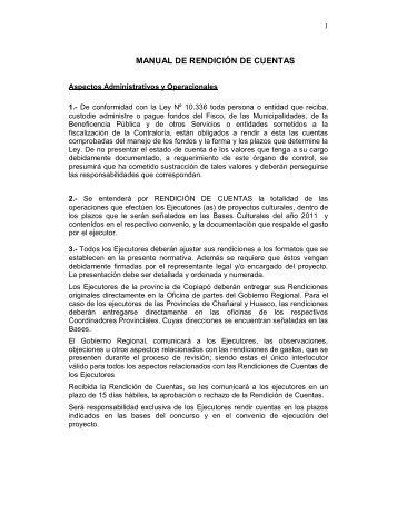 manual de rendición de cuentas - Gobierno Regional de Atacama