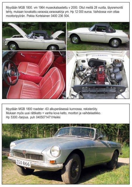 Brittisportti 3 09 - MG Car Club Finland Ry