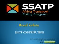 Road Safety - World Bank