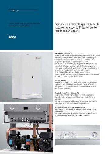 idea eco plus italiano bongioanni caldaie