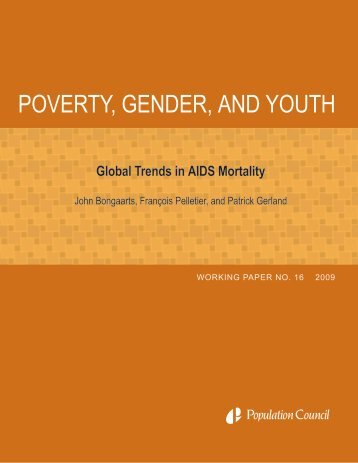 Global trends in AIDS mortality - Population Council