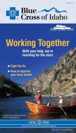Working Together - Blue Cross of Idaho