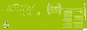 """Paesaggio 2 """"differenze locali e delle produzioni dei distretti"""""""