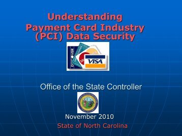 Understanding Payment Card Industry (PCI) Data Security