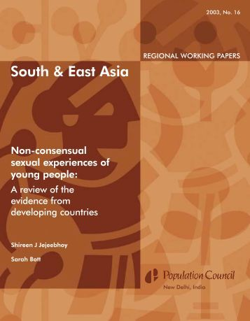 Non-Consensual Sexual Experiences of Young ... - Population Council