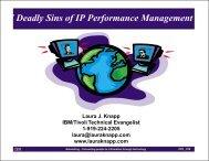 Performance Pitfalls of Web sites - Laura Jeanne Knapp
