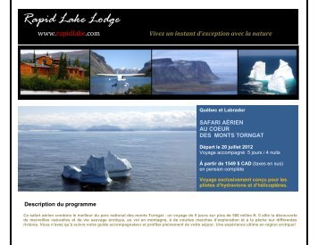 Rapid Lake Lodge