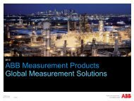Measurement products overview - ABB - ABB Group