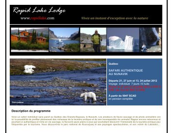 Rapid Lake Lodge