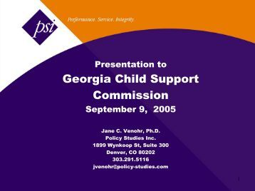 Worksheet Georgia Child Support Worksheet child support worksheet instructions city of albany georgia presentation to commission policy studies