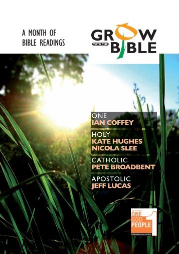 Grow with the Bible - Bible Reading Fellowship