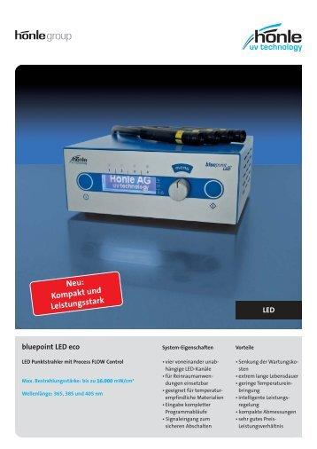 Produktinformation bluepoint LED eco - Dr. Hönle AG