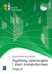 Systemy operacyjne i sieci komputerowe - Sklep Internetowy WSiP