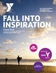 View/Download Fall 2013 Program Guide - YMCA of Orange County