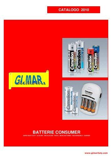 Catalogo Batterie 2011 - GI.MAR.