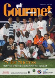 'S' for Success - The Emirates Culinary Guild